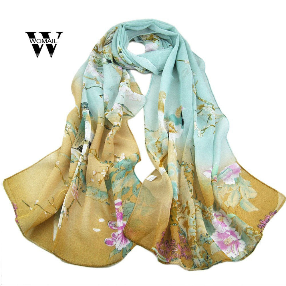 Fashion Women Long Leopard Shade Shawl   Scarf     Wrap   Chiffon   Scarves   Magpie Spring Printing New Fashion Dec 5