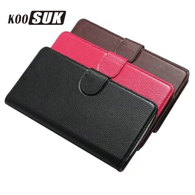 KOOSUK Wallet Flip Case For Samsung S8 Plus Phone Bags Yak Genuine Leather Cover for Samsung Galaxy S8 Protection Case Skin Caps