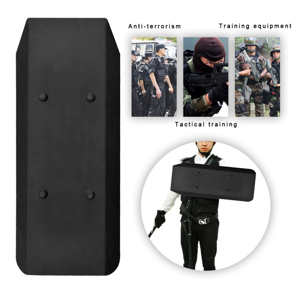 LESHP Police Soldiers Multi-functional Antiriot Aluminum Alloy Tactical Defense Armbands Defense Shield Security Arm Protection police pl 12743ls 02m