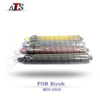 1PCS Color Toner Cartridge For Ricoh MPC4500 MPC3500 Compatible Copier Parts MPC 4500 3500 Photocopy machine Printer Supplies