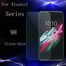 9H Tempered Glass For Alcatel One Touch C3 C5 C7 C9 5042 M5 iDol3 Pixi3 Dual POP IDol2 6037 Cover Case Screen Protector Film(China)