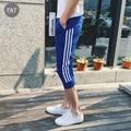 Men Calf Length Pants 2016 New Fashion Men's Jogger Pants Outwear Joggers Sweatpants Sportswear Casual Men Harem Pants Men Slim
