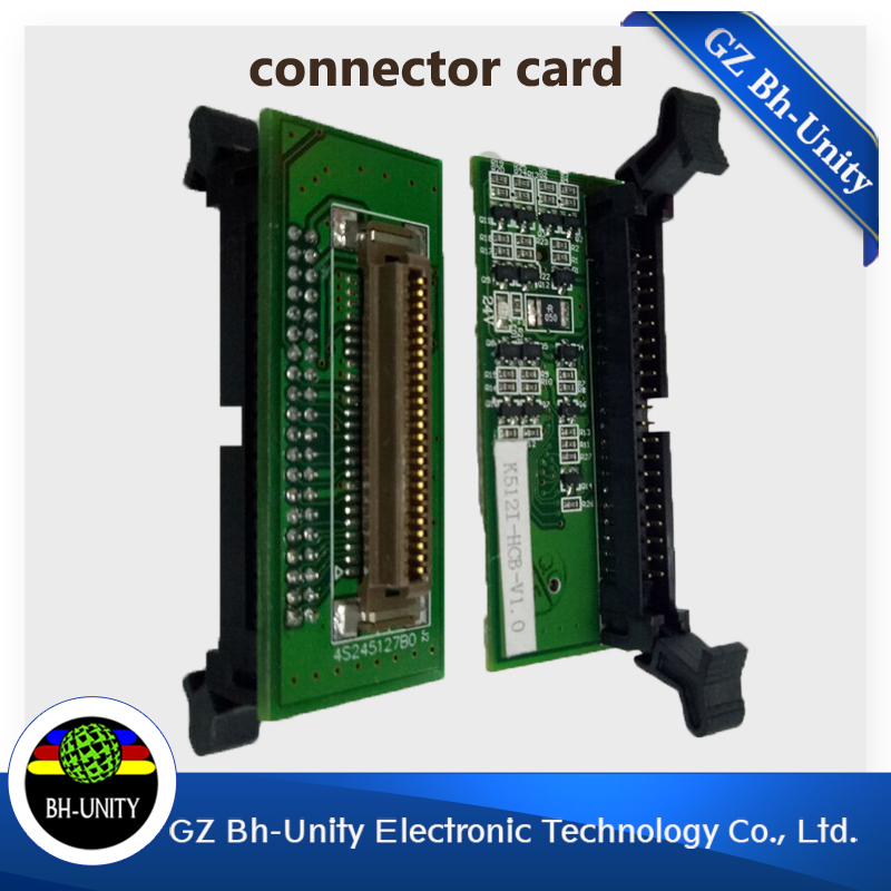 free shipping ! best price !!! Konica 512I printhead connector card transfer board for konica 512I printhead eco solvent ink for roland fj540 fj740 fj640 rs640 sj540 sj740 sj640 eco solvent printhead for dx4