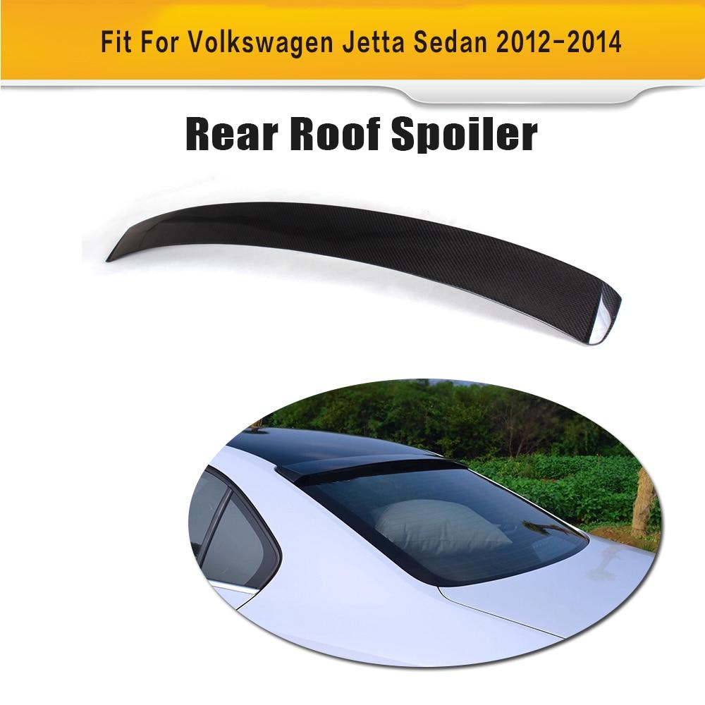 Carbon Fiber Rear Boot Lid Wing Spoiler for Volkswagen VW Jetta Sedan 4 Door 2012 2013 2014 S GLI TDI SEL SE стоимость