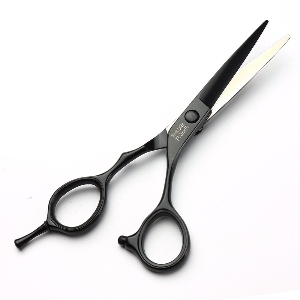 Купить с кэшбэком Genuine professional barbershop haircut Scissors 5.5 inch 6 inch 7 inch japanese hairdresser cutting shears thinning cliper