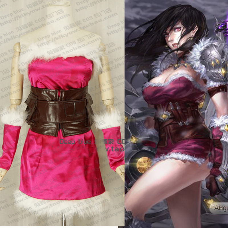 LOL The Goddess of War Shivell Cosplay Costume