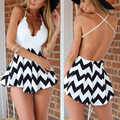 Women dress Новый стиль Sexy beach dress Выше колена мини регулярный V-образным Вырезом дешевые одежда китай украина