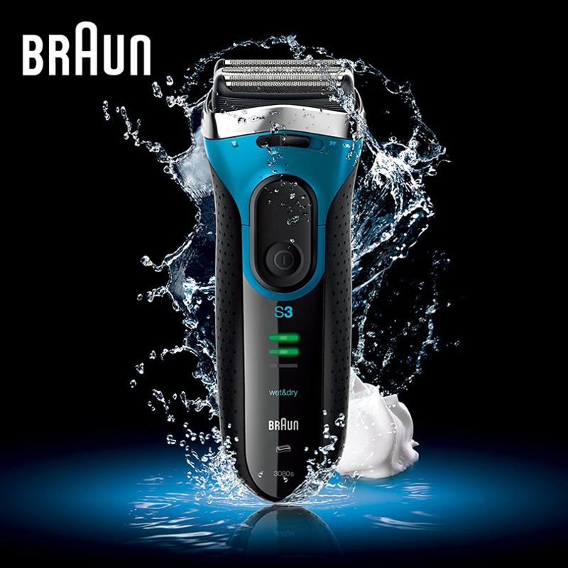 Braun Series 3 Electric Shaver 3080S Electric Razor Blades Shaving Machine Rechargeable Electric Shaver For Men Washable braun series 3 electric shaver 3080s electric razor blades shaving machine rechargeable electric shaver for men washable