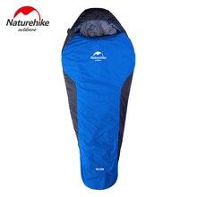 NatureHike saco de Dormir Momia Ultraligero Camping y Senderismo De Invierno Otoño NH15S013-D