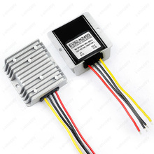 Power Supply DC Voltage Reducer Converter Regulator Buck 12V/24V Step Down to 5V Waterproof