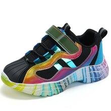 Ulknn少女スポーツシューズ2020春の新子供のピンクの靴ベビーメッシュ秋通気性メッシュピンクザンファン靴のサイズ27 37