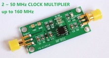 все цены на Clock multiplier module RF901 Frequency doubling module Frequency multiplication 2~50MHz онлайн