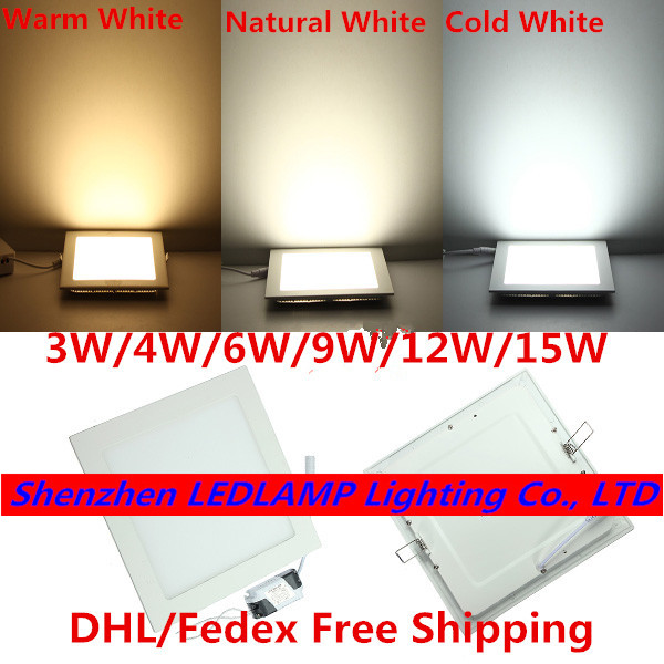 ultra thin recessed lighting low profile led dimmable led ceiling panel light ultra thin recessed downlight 3w 6w 9w 12w 15w brightness adjustable indoor lighting lampin downlights from lights