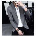 2016 Autumn Winter Brand Men's Long Sleeve Slim BigTurn-down Collar Knitted Cardigan Sweater Men's Coat Sweater Clothing