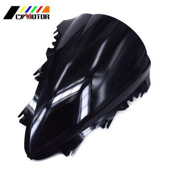 Motorcycle Black Windshield Fairing Windscreen For YAMAHA YZF-R1 YZF R1 YZFR1 2007 2008 07 08