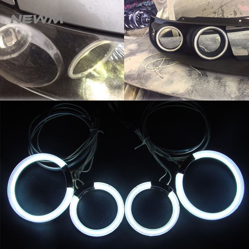 Free Ship For INFINITI FX35 FX45 2003 2004 2005 2006 2007 2008 Excellent Ultra bright illumination CCFL Angel Eyes kit Halo Ring for alfa romeo 147 2000 2001 2002 2003 2004 halogen headlight excellent ultra bright illumination ccfl angel eyes kit halo ring