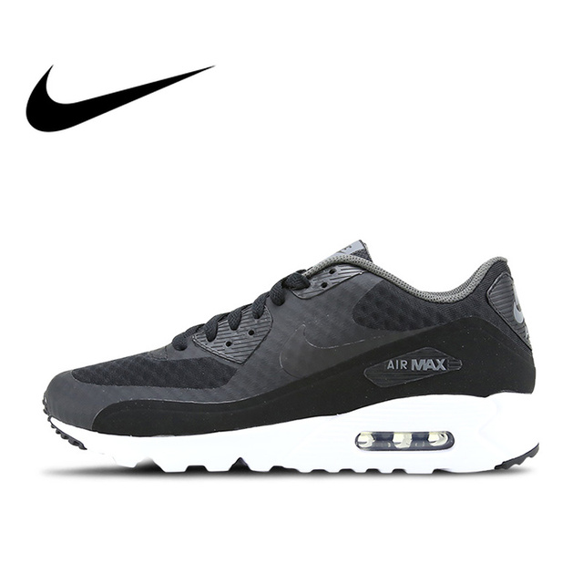 66b98e1d69 Original Authentic NIKE AIR MAX 90 ULTRA ESSENTIAL Men's Breathable Running  Shoes Sports Outdoor Walking Jogging