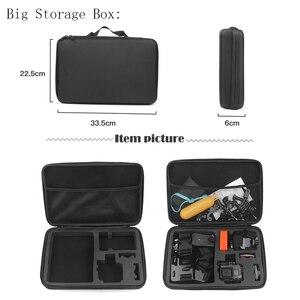 Image 5 - SHOOT duży/średni/mały rozmiar kolekcja Case dla GoPro Hero 9 8 7 czarny Xiaomi Yi 4K Sjcam Sj4000 Eken Box dla Go Pro akcesoria