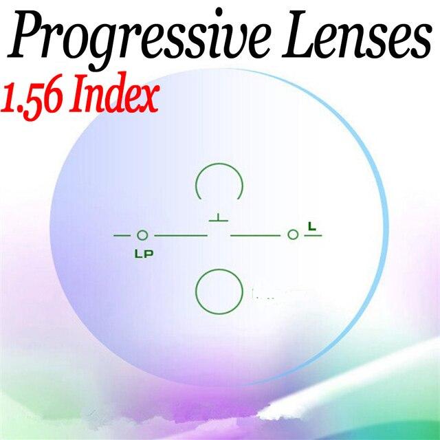 1.56 ASP HMC близорукость пресбиопии Прогрессивные линзы lentes opticos очки для чтения компьютерные линзы по рецепту, чтобы увидеть далеко и близко