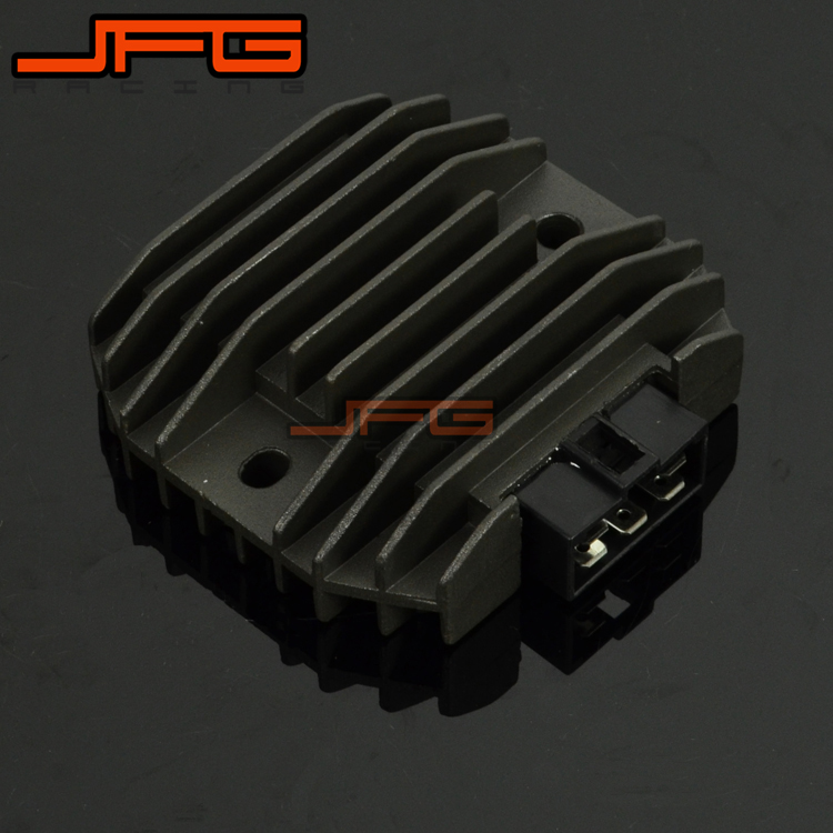 Motorcycle Aluminum Voltage Rectifier Regulator For YZF600 1996 2005 XP500 TMAX500 2001 2006 ...