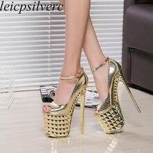 Women Pumps Shoes Super High Heels Sexy