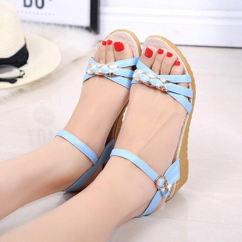 7bd96ebc6bac KESMALL-2018-New-Spring-Summer-Wedges-Sandals-Women-Casual-Women-Shoes-PU- Sandals-Woman-Fish-Mouth.jpg