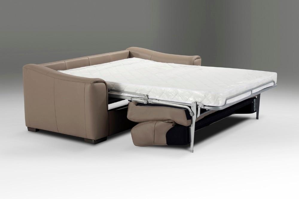 Echte Echtem Leder Sofa Bett Wohnzimmer Couch Schlafsofa Und Matratze Moderne Kreative Multifunktionsklappschreibtischlampen
