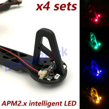 APM2.6 2.5 APM2.8 LED voor Quadcopter F330 F450 F550 S500 frame lichaam TBS DISCOVERY navigatie licht met Drive module hexcopter(China)
