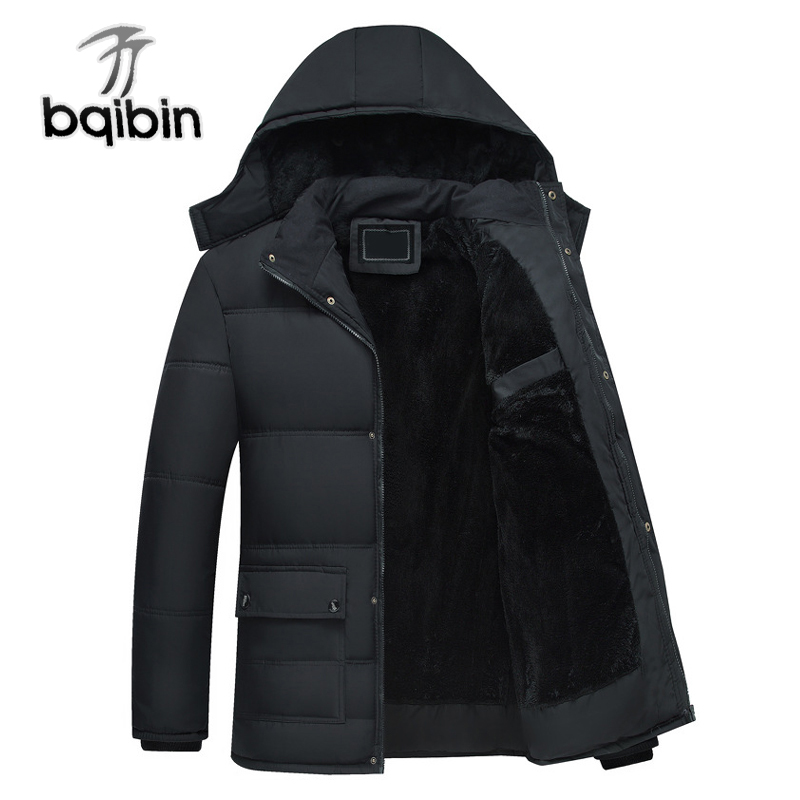 New Winter Jacket Men -20 Degree Thicken Wram Men Parkas Fleece Windproof Outwear Men Jackets Hooded Overcoat