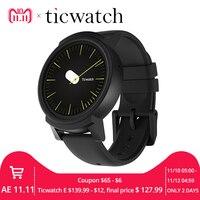 Оригинальный Ticwatch E Expres Смарт часы Android Wear OS MT2601 двухъядерный Bluetooth 4,1 wifi gps Smartwatch телефон IP67 водостойкий
