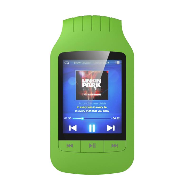 цена на Mini Clip HOTT 1037 MP3 Player 8GB Support Sport Pedometer Bluetooth FM Radio TF Card Slot 1.8  LCD Screen Stereo Music Player