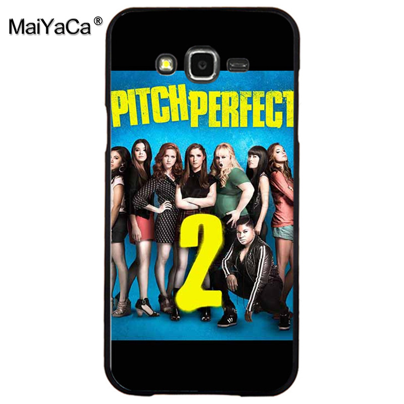 MaiYaCa pitch perfect Hot Sale Fashion Luxury cover phone case for samsung J5 j1 j3 j7 note 3 note4 note5 case coque