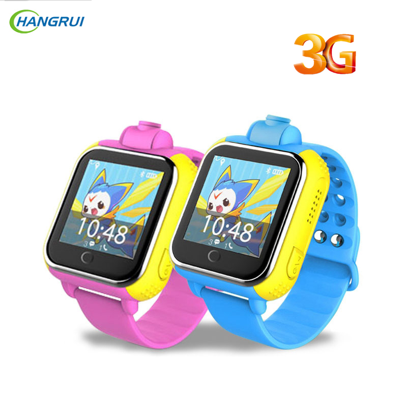 HANGRUI JM08 Baby smart watch WiFi+GPS+LBS Children SOS Tracker Touch Screen Kid safe Anti Lost Tracker Location Finder PK Q50 smart baby watch q60 детские часы с gps розовые