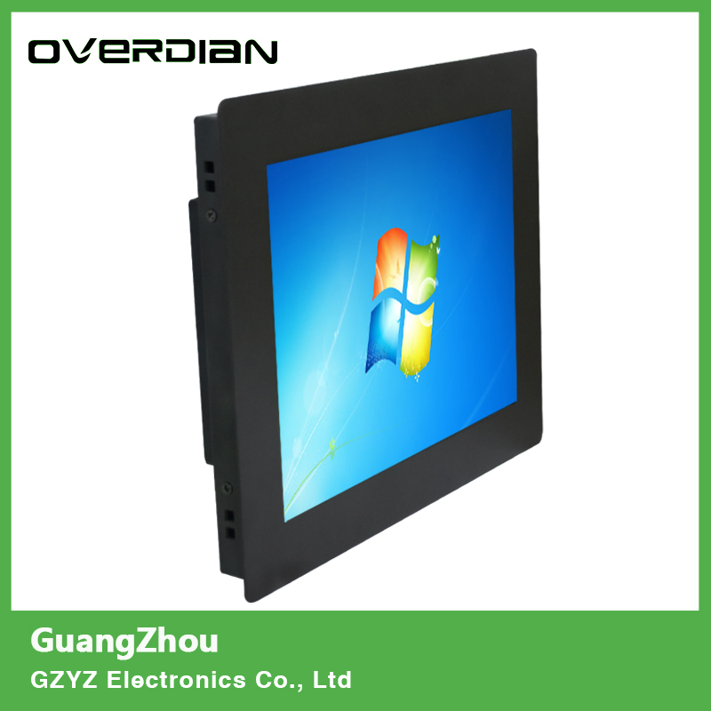 8/8.4 inch VGA Interface Card Button Mounting Non- Touch Industrial Control LCD Monitor/Display Metal Shell 10 4 10 vga dvi interface non touch industrial control lcd monitor display 1024 768 metal shell hanger card installation 4 3