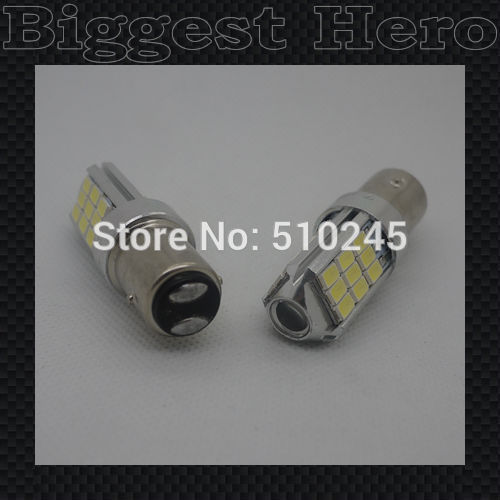 100X wholesale Car Auto Vehicle BAY15D 1157 5630 5730 27 SMD LED Brake Stop Light Head/Rear /Tail Signal Lamp Bulb free shipping