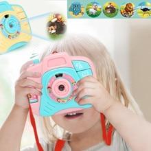 Детский Электрический мини-симулятор, звук и светильник, проекционная камера, игрушки, детские Мультяшные пластиковые Развивающие игрушки, подарки#20