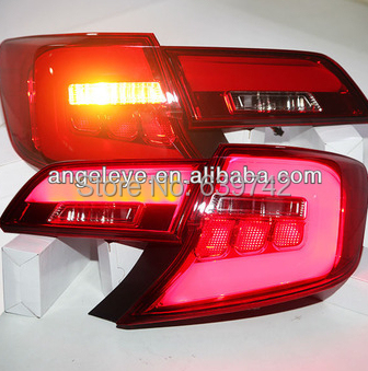 For TOYOTA Camry LED Tail Lights 2013-2014 year U.S Version red