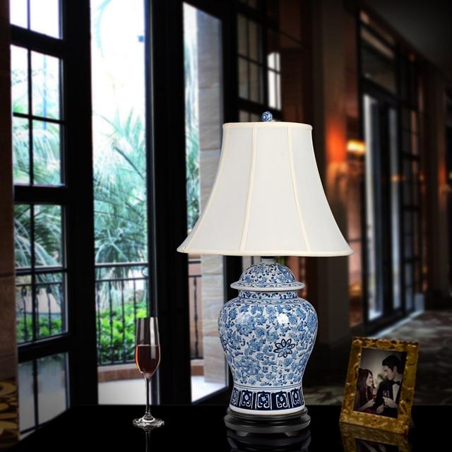 Genial Kunst Chinesische Porzellan Keramik Tischlampe Schlafzimmer Wohnzimmer  Hochzeit Tischlampe Jingdezhen Schlafzimmer Tischlampe