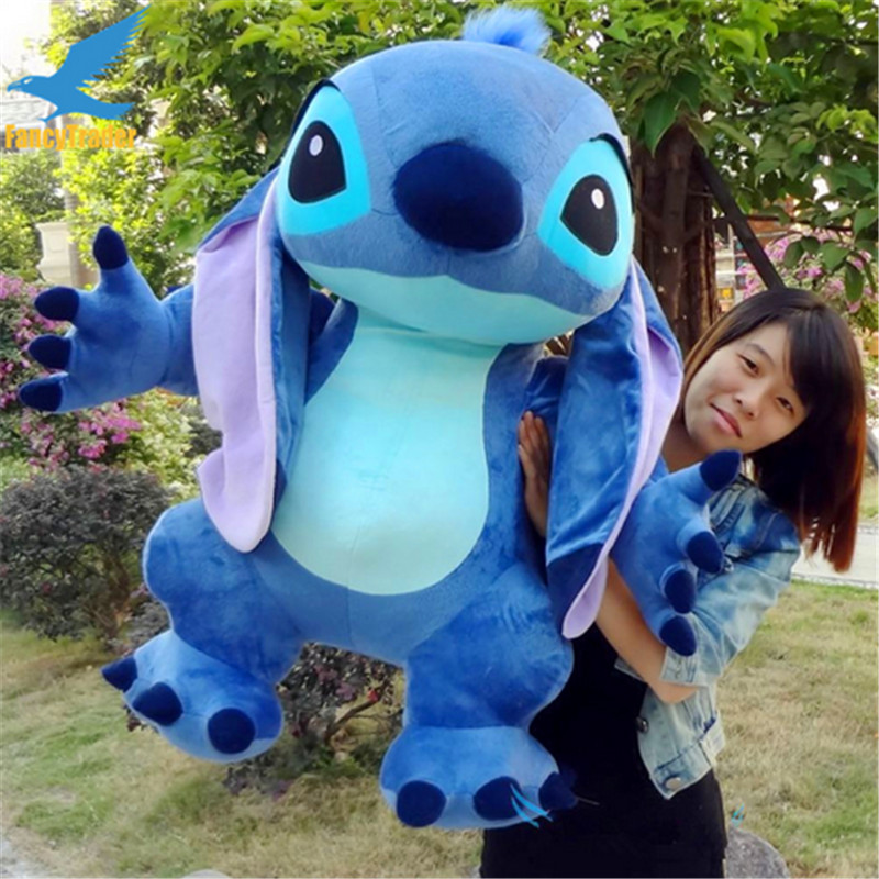 Fancytrader Real Pictures 35 '' Jumbo Giant Stitch Plush Dihiasi Soft - Mainan lembut - Foto 2