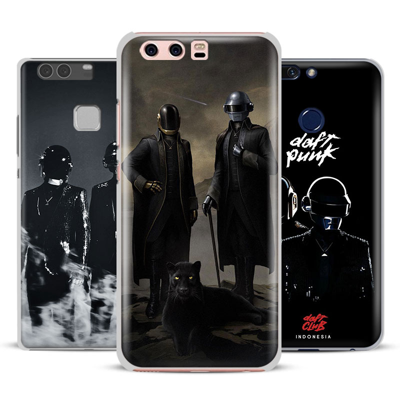 Daft Punk Fashion Coque Mobile Phone Case Cover For Huawei Ascend P8 P9 Lite 2017 P10 Plus Honor 6x 7i 8 V8 V9 Mate 7 8 9 Nova 2