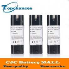 3x Power Tool Battery For MAKITA 7033 7002 7000 632003-2 191679-9 192532-2 Cordless Drill tool Battery 7.2V 1500mAh NI-CD