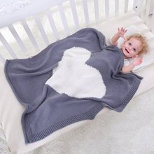 ФОТО Baby Blankets Rabbit Hook born Blanket Kids Personalized Cotton Bedding Cover