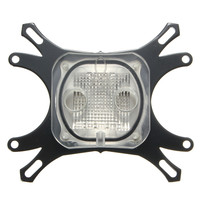 1pcs Computer Cooling Radiator 50mm CPU Water Cooling Block Waterblock Base Cool Inner Channel Black
