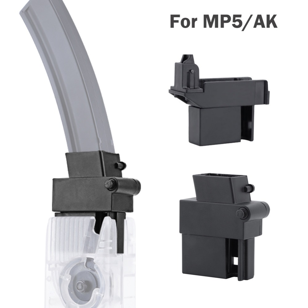 WoSporT Tactical Paintball M4 BB Speed Loader Converter To Adapt AK MP5 Magazine For Hunting Airsoft Army Military Equipment