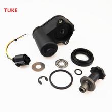 Buy TUKE 1 Set Brake Calipers Servo Motor + Screw kit & Cable Harness Adapter Socket For VW Tiguan Sharan Passat 32332267 32326315