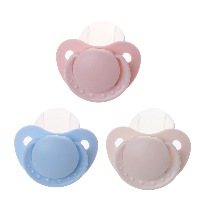 2018 Custom Big Size Food Grade Silicone Baby Adult Pacifier Funny Parent-child Toys