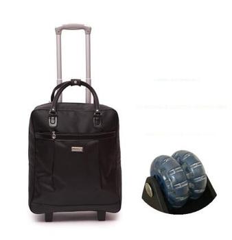 Torba na kółkach dla podróży kobiet torby podróżne koła podróży torby na kółkach nylonu o dużej pojemności podróży Rolling bagaż walizki torby tanie i dobre opinie Stałe WOMEN Moda SOFT 36cm oxford zipper 23cm Wszechstronny Podróż torba Weishengda 43cm European and American Style