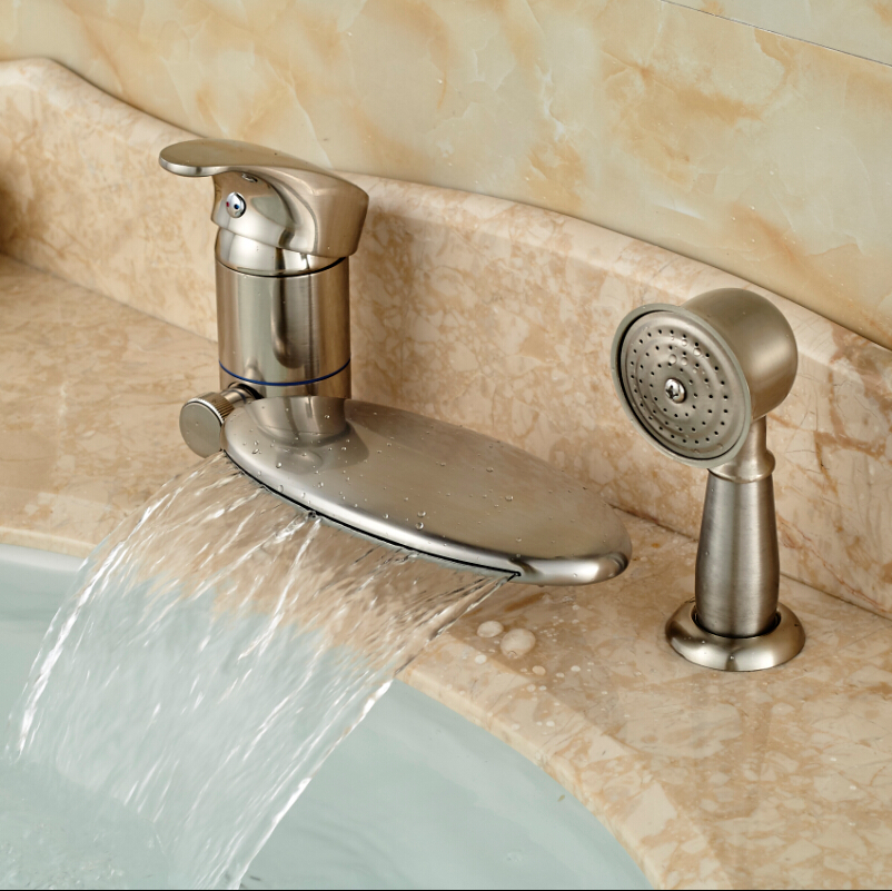Online Get Cheap Brushed Nickel Bathtub Faucets Aliexpresscom