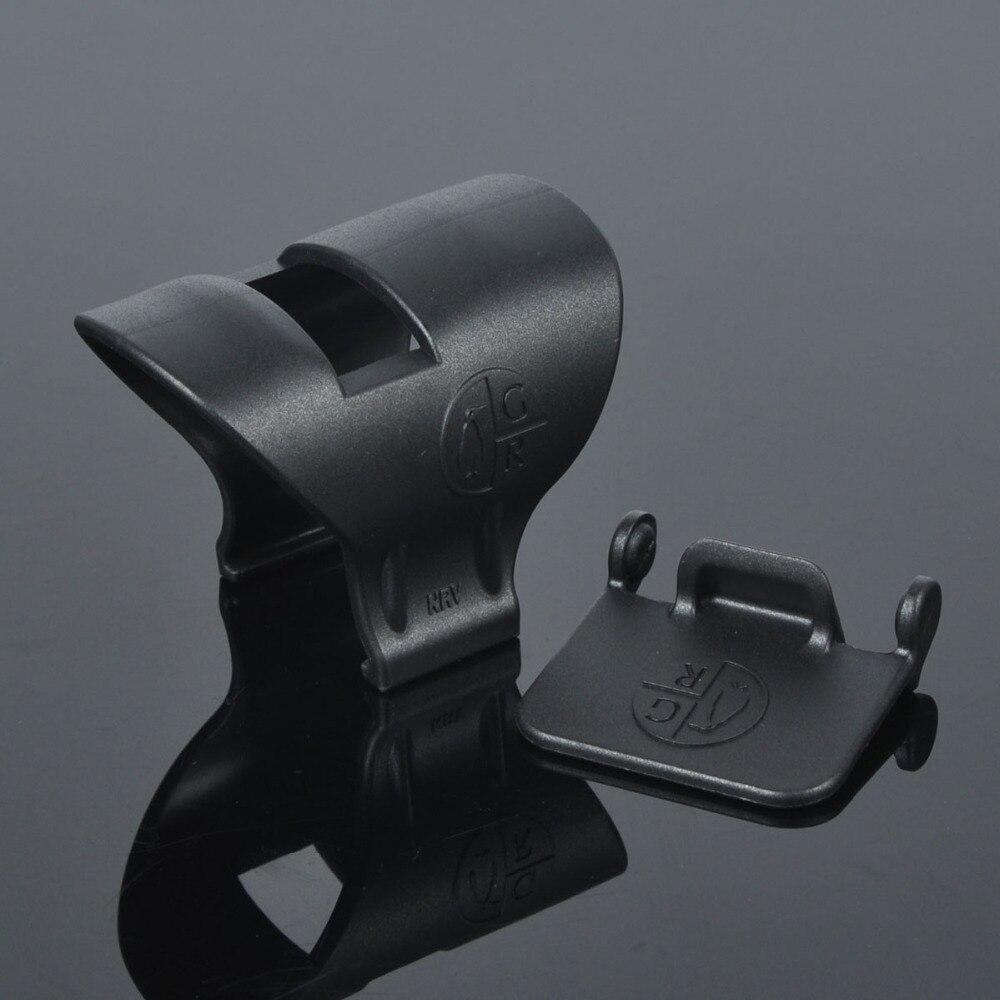 Tático M-LOK bipod montar handguard adaptador baixo