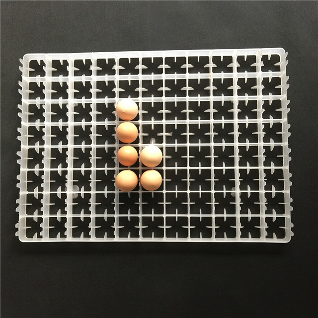 1 PCS Of Incubation Equipment Accessories 50 * 35.6 * 2.5cm White Plastic 88 Egg Tray Is Easy To Use Very Good Quality